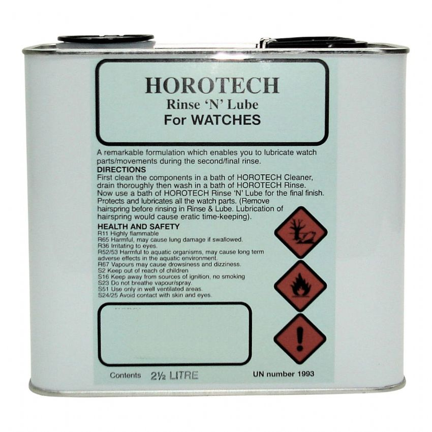 HOROTECH Rinse 'N' Lube For WATCHES 2.5lt